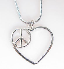 Peace and Love-halsband